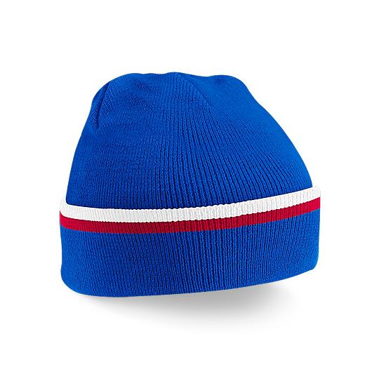 9056c723 Red, White & Blue Winter Beanie Hat