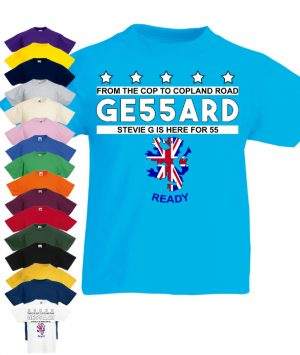 Image result for gerrard 55 t shirts from the cop